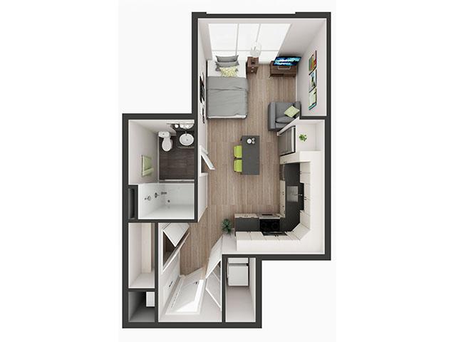 S2 Floor plan layout