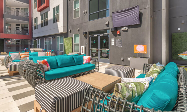 Lounge Deck at Academy65