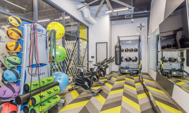Fitness Center at Academy65